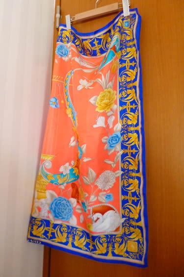 300円だったレオナールのスカーフ