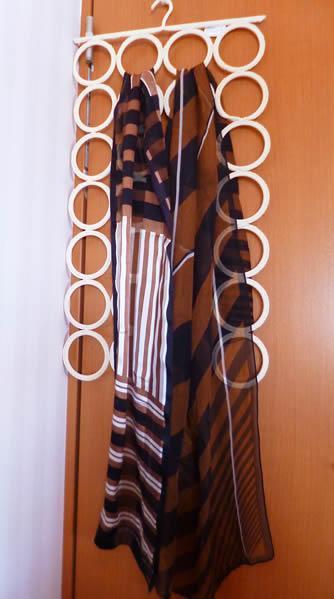 ロングスカーフ活用法